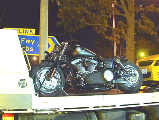 Motorcycles-Towing